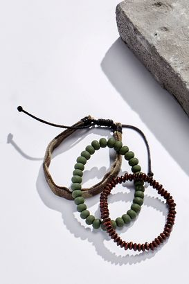 Khaki Camo Mix Bracelet Three Pack