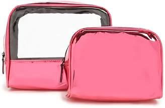 Forever 21 Metallic Makeup Bag Set
