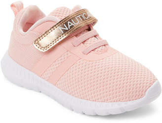 Nautica Toddler Girls) Rose Gold Towhee Running Sneakers