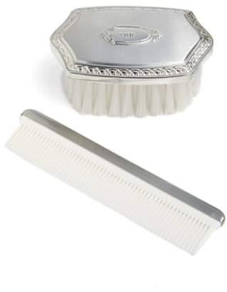 Salisbury Pewter Personalized Brush & Comb Set
