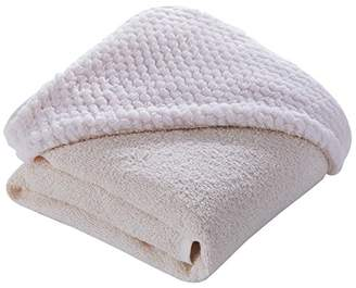 Clair De Lune Honeycomb Hooded Towel (Cream)