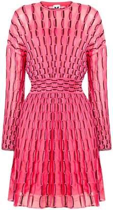 M Missoni printed knit mini dress