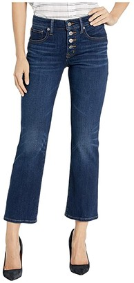 Lucky Brand Mid-Rise Ava Crop Mini Bootcut Jeans in Abbott
