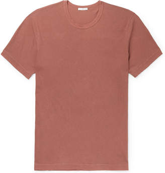 James Perse Combed Cotton-Jersey T-Shirt - Men - Red