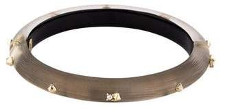 Alexis Bittar Studded Lucite Hinge Bangle