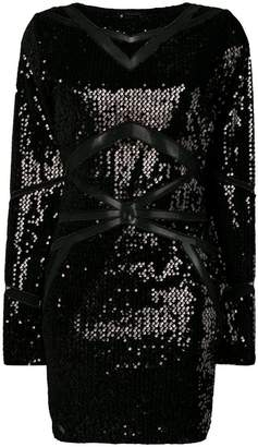 Philipp Plein sequinned mini dress