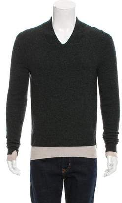 Balenciaga Layered Wool Sweater