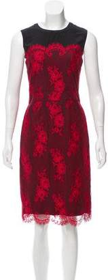 Clements Ribeiro Lace-Accented Sleeveless Dress w/ Tags