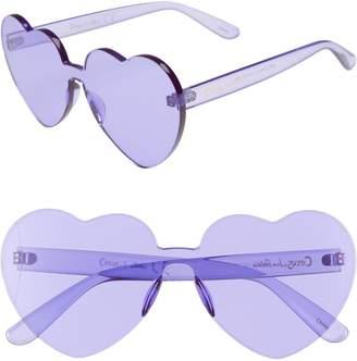 Sam Edelman 60mm Heart Shield Sunglasses