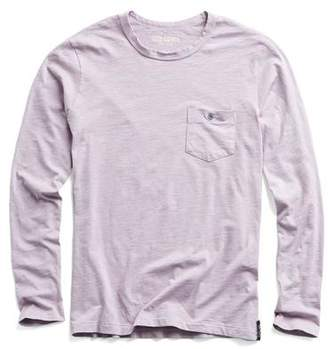 Todd Snyder Made in L.A. Long Sleeve Tee in Lavender