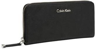Calvin Klein Slgs Saffiano Wallet Black 832