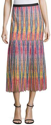 Saloni Women's Diana Uzbek Ikat Maxi Skirt