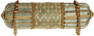 "Sweet Dreams Palazzo Como Pieced Neck Roll Pillow, 8"" x 24"""