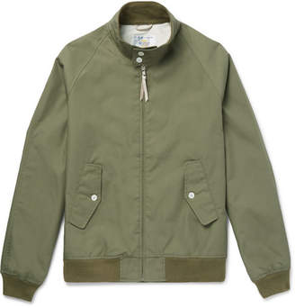 GoldenBear Golden Bear - Poplin Blouson Jacket - Men - Green