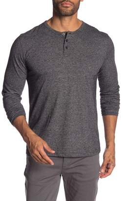 MTL APPAREL Long Sleeve 3-Button Henley