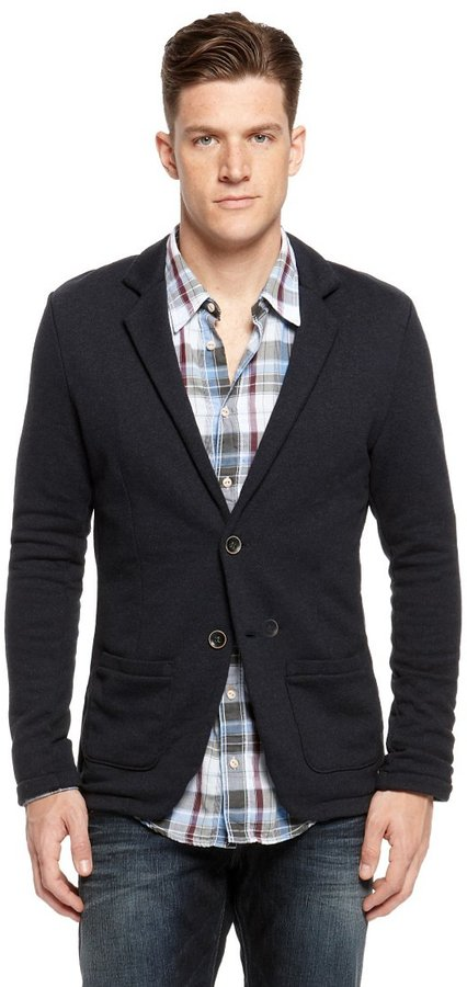 HUGO BOSS 'Wayn' | Cotton Sweater Jacket by BOSS Orange