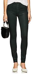 L'Agence Women's Marguerite Skinny Jeans - Dk. Green