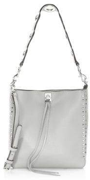 Rebecca Minkoff Small Darren Pebbled Leather Feed Bag