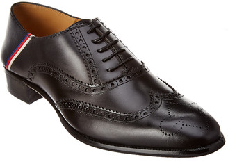 Gucci Brogue Leather Oxford