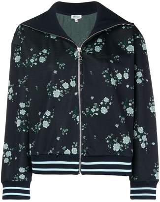 Kenzo floral spread collar bomber jacket