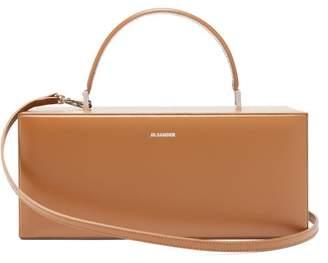 Jil Sander Rectangular Case Leather Handbag - Womens - Tan
