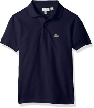 Lacoste Big Boys' (l1812) Short Sleeve Classic Pique Polo Shirt