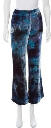 Raquel Allegra Mid-Rise Velvet Pants w/ Tags