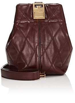 67d3c21c9c40 Givenchy Women s GV3 Mini Leather Bucket Bag - Aubergine