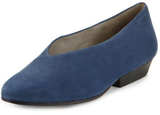 Eileen Fisher Sabin High-Cut Nubuck Pump $195 thestylecure.com