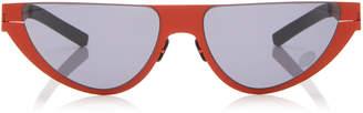 Kitt Cat-Eye Stainless Steel Sunglasses