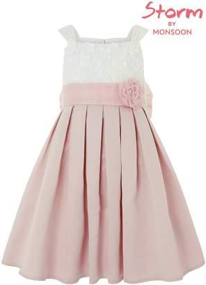 Next Girls Monsoon Pink Enola Flower Dress