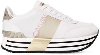 Calvin Klein Jeans 40mm Coretta Nylon Platform Sneakers