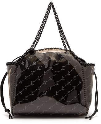 Stella McCartney Falabella Monogram Tote Bag - Womens - Grey Multi