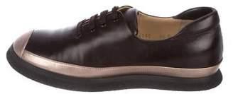 Walter Steiger Leather Cap-Toe Sneakers