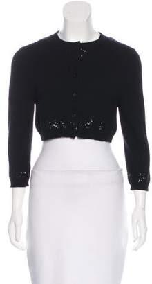 Marc Jacobs Embellished Cashmere Cardigan