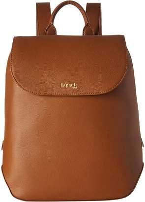 Lipault Paris Plume Elegance Leather Small Backpack Backpack Bags