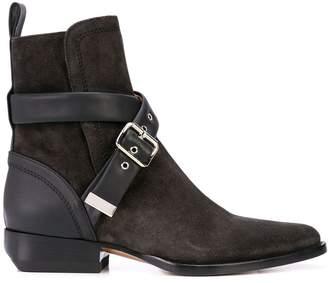 Chloé buckle strap boots