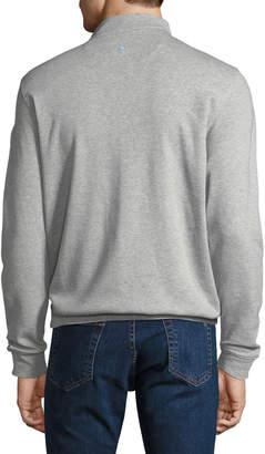 Tailorbyrd Men's Mock-Neck Jersey Sweatshirt, Gray