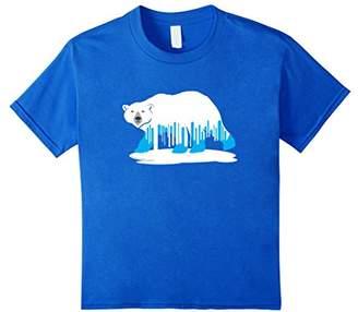 Melting Polar Bear Climate Change T-shirt