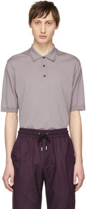 Lanvin Purple Wool Polo