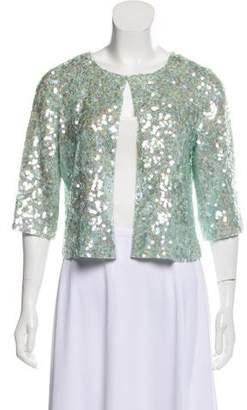 Calypso Silk Sequin Jacket w/ Tags