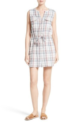 Women's Soft Joie Tawna Plaid Shirtdress $188 thestylecure.com