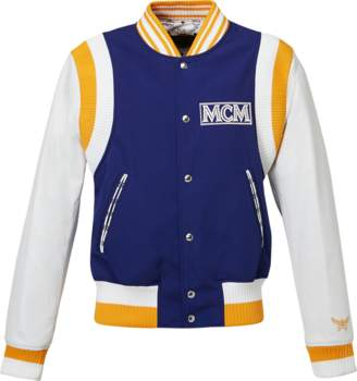 MCM Men's Classic Logo Stadium Jacket