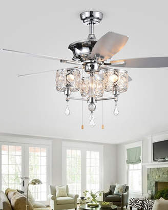 Home Accessories Miramis Crystal Chandelier Ceiling Fan