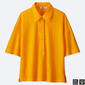 Uniqlo Women's U Half Sleeve Polo Shirt