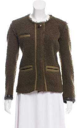 Etoile Isabel Marant Wool-Blend Bouclé Jacket