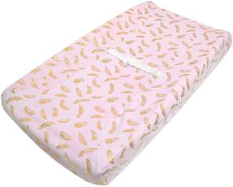 T.L.Care Tl Care TL Care Heavenly Soft Chenille Fitted Contoured Changing Table Pad Cover