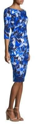 Michael Kors Floral Boat Neck Dress