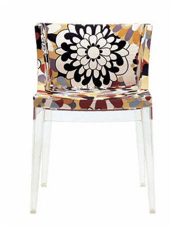 Kartell Mademoiselle Chair Missoni Fabric