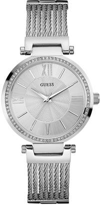 GUESS Women's Stainless Steel Bracelet Watch 36mm U0638L1 $125 thestylecure.com